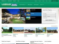 Landmark Rural Real Estate screen shot