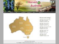 Harvest Hotline Australia screen shot